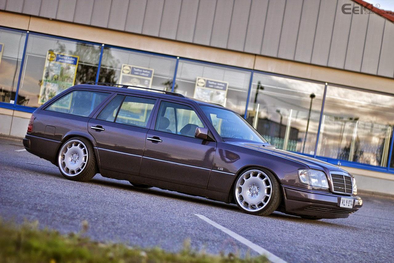 Mercedes-Benz W124 Estate on Carlsson Wheels | BENZTUNING