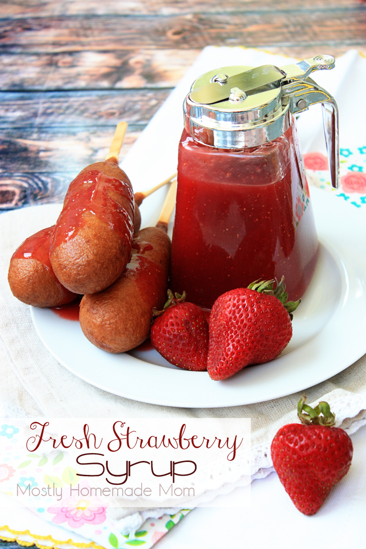 how to make strawberry syrup
