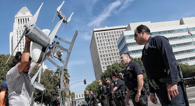 LAPD takes another step toward deploying drones in controversial yearlong test