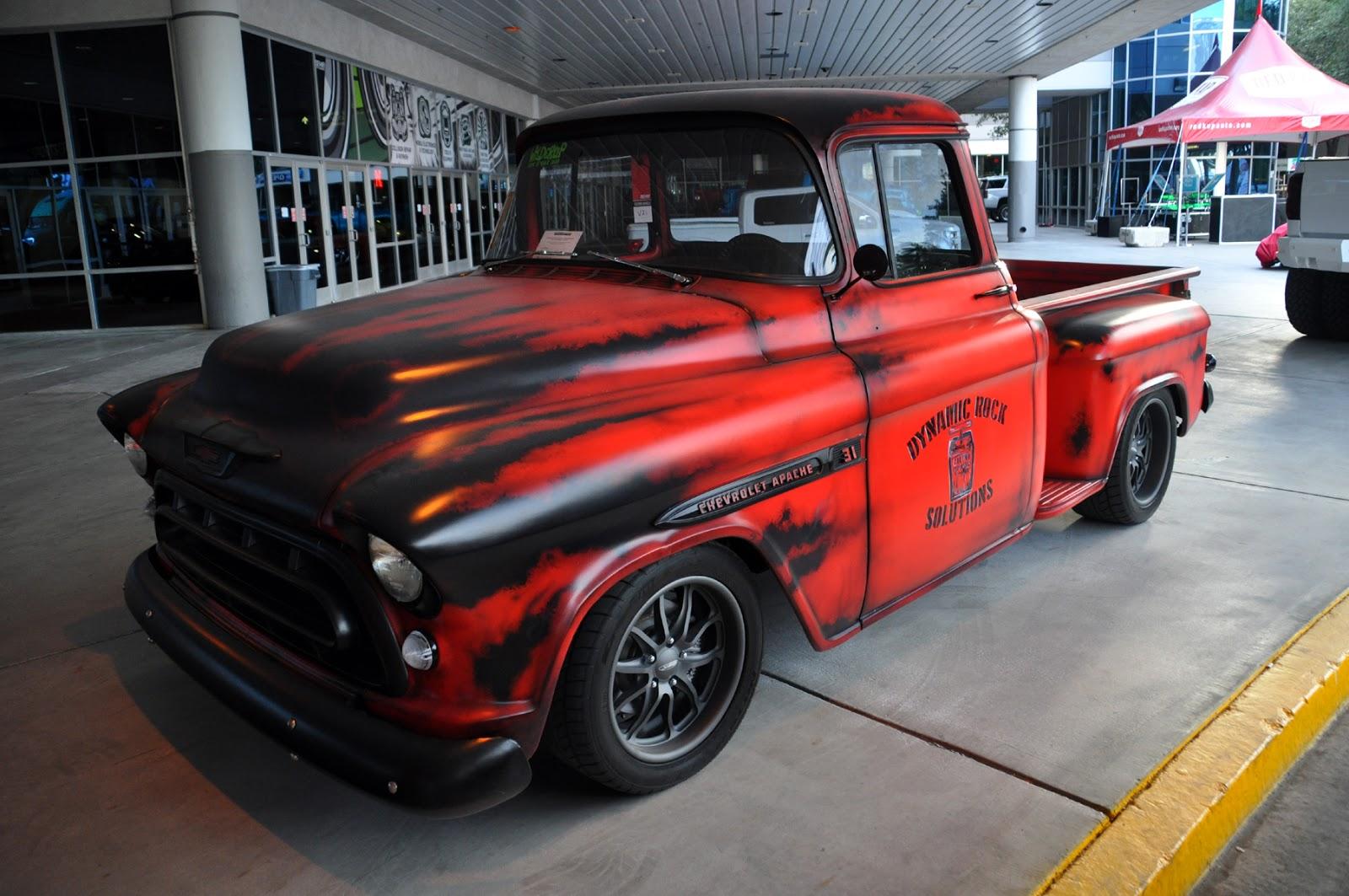 Just A Car Guy: Lots Of Cool Old Trucks At SEMA This Year