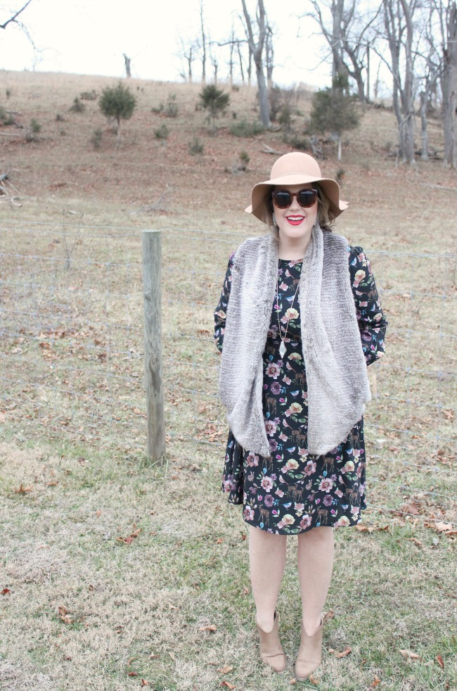 EShakti Woodland Dress // Julie Leah Blog