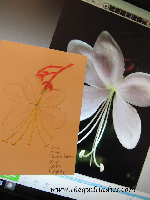 designing our condo lanai wall for flower design in paint