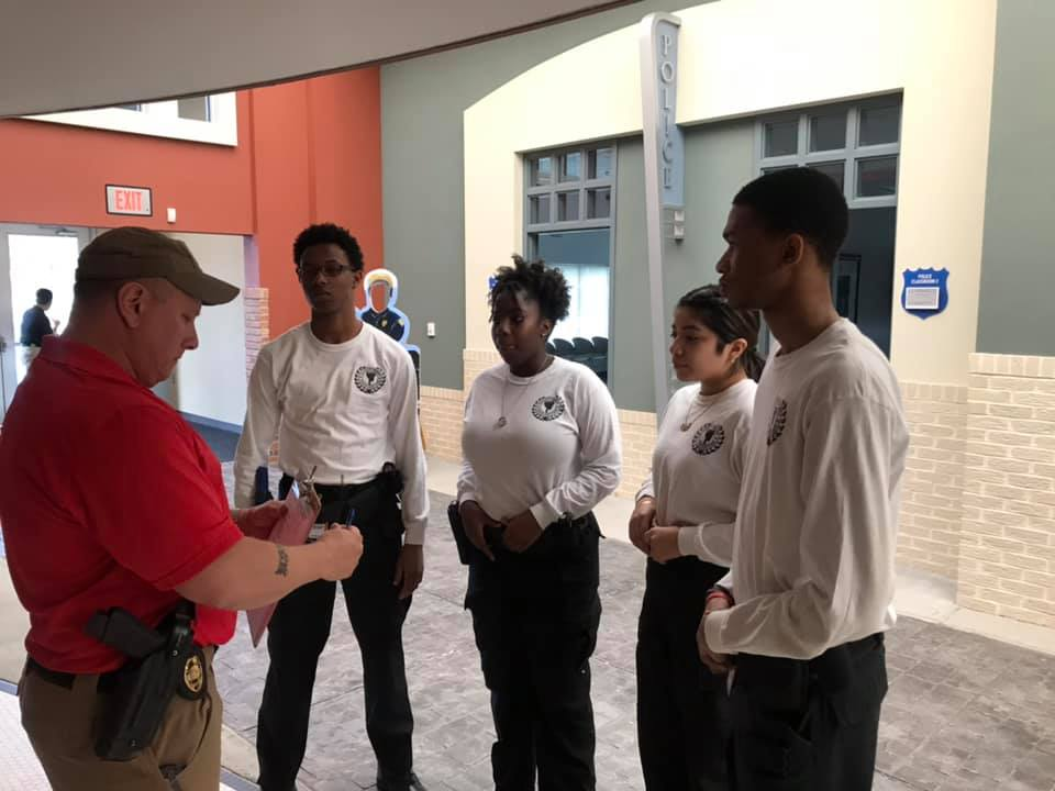 Clayton County Police Department News : Clayton County Explorers
