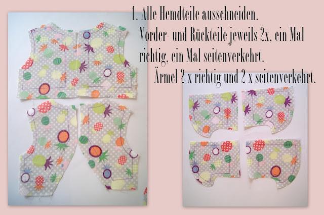 free Tutorial Hemd Hose Ballerinakleid Hasenfamilie