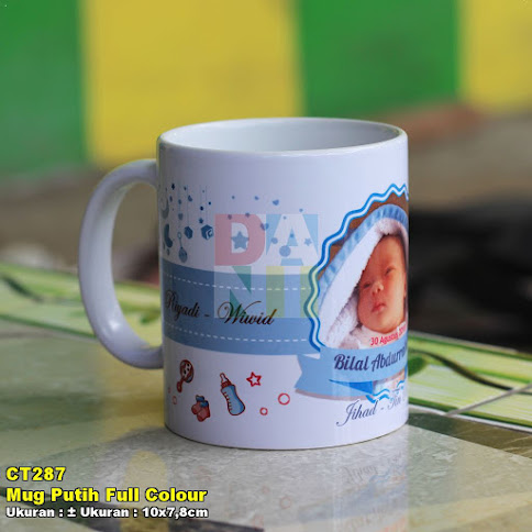Mug Putih Full Colour