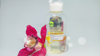REVIEW GARNIER MICELLAR OIL-INFUSED CLEANSING WATER