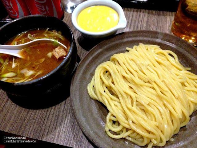 Mitsuyado Sei-Men's Cheese Tsukemen