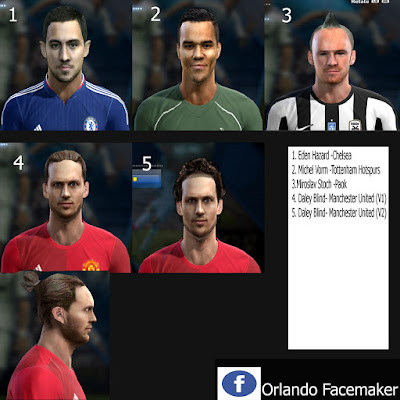 PES 2013 FacePack Volume 2 by Orlando Facemaker