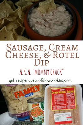 I make this every New Year's Eve! The ingredients are weird, but this dip is the best thing you're ever going to eat.