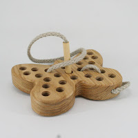 TT06, Threading Butterfly, Lotes Wooden Toys