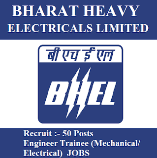 Bharat Heavy Electricals Limited, BHEL, Engineer Trainee, Graduation, freejobalert, Sarkari Naukri, Latest Jobs, bhel logo