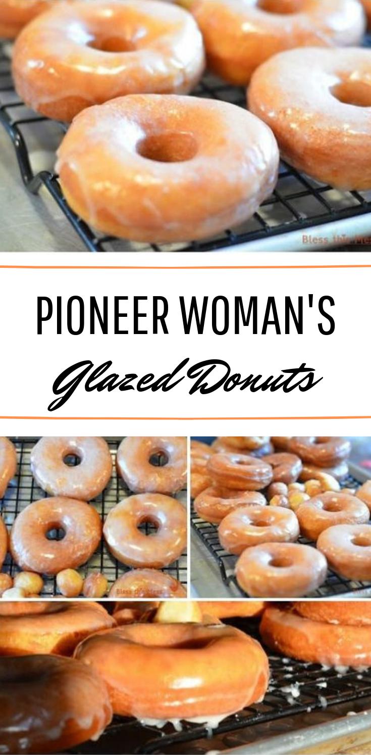 Pioneer Woman's Glazed Donuts #donuts #bestrecipe