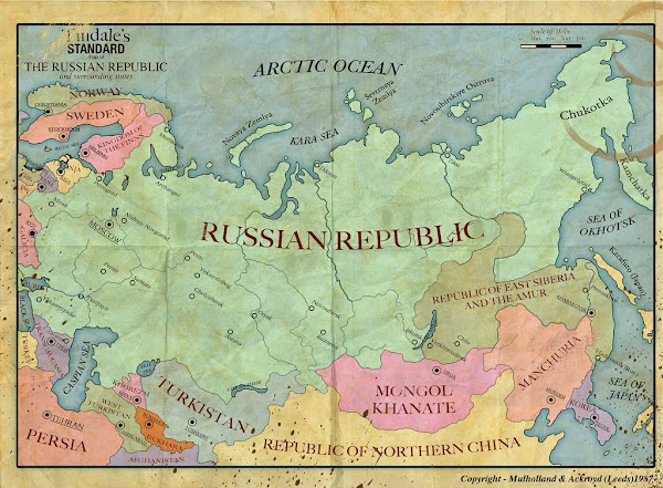 Russia Historical Map