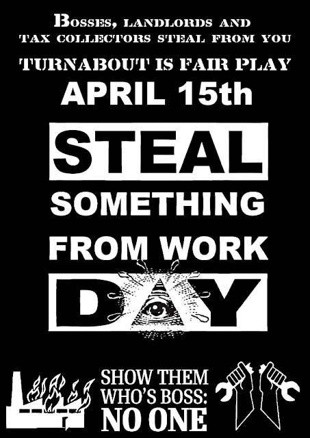 April 15 IS STEAL SOMETHING FROM WORK DAY