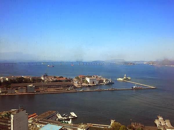 Rio de Janeiro, ponte Rio-Niteroi