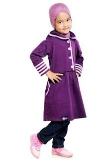Busana muslim anak perempuan trendy
