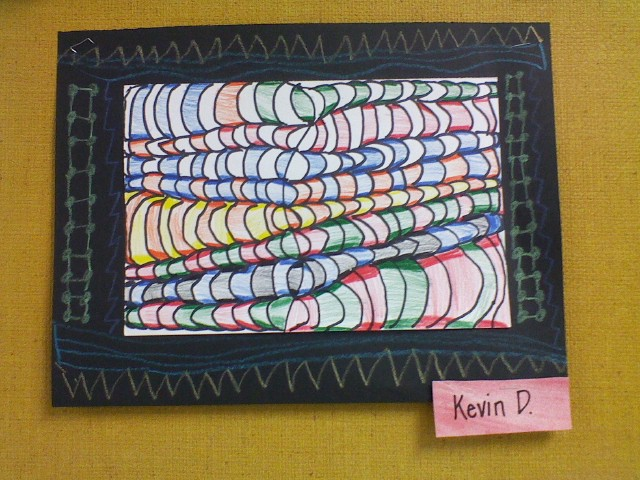 Why I Love Art Fourth Grade Op Art Drawings