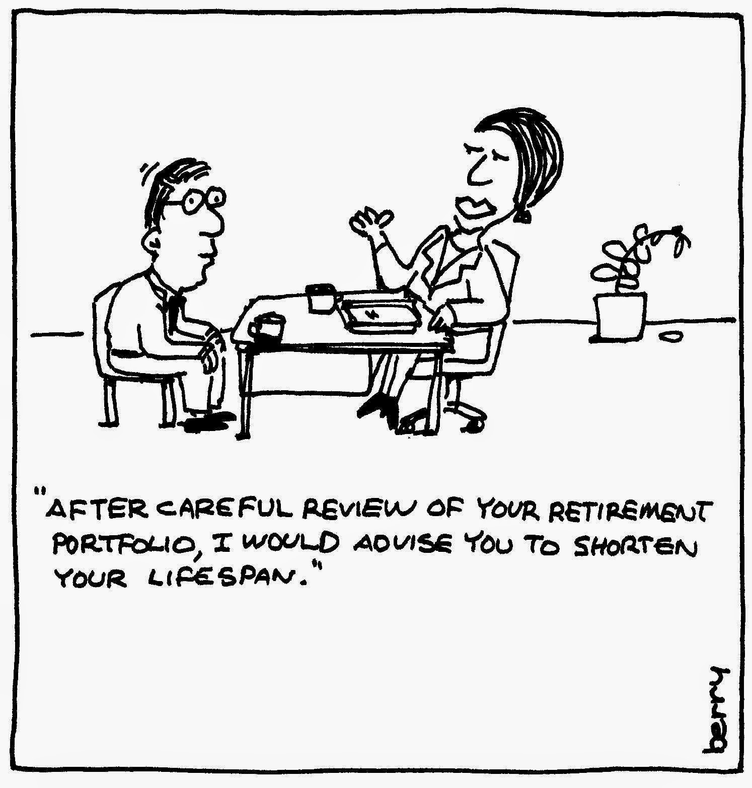 Free Comic Book Day Romania: Berry Cartoons: Retirement Plan Cartoon