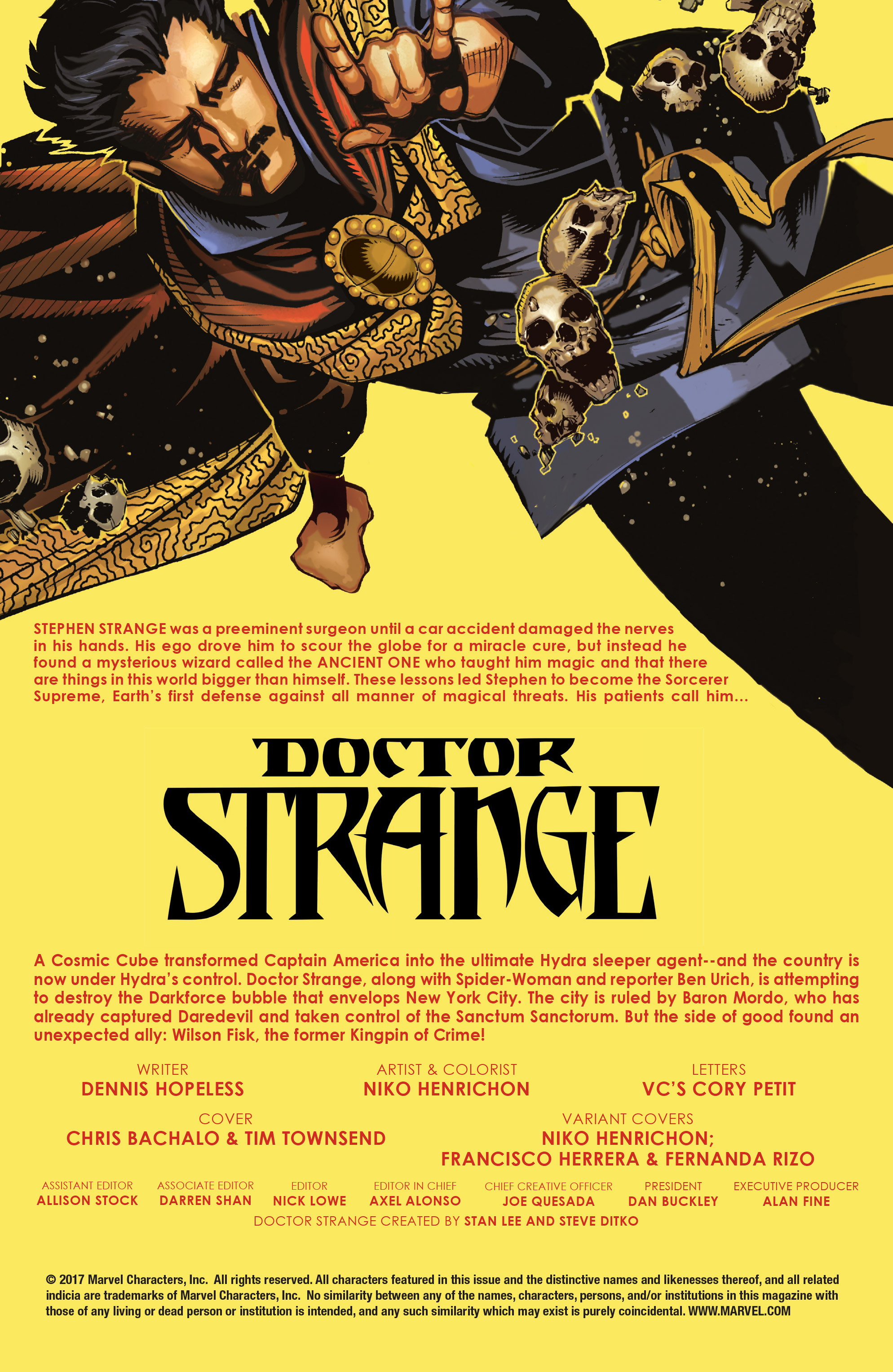 Read online Doctor Strange (2015) comic -  Issue #22 - 2