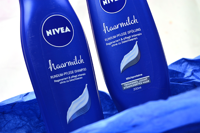 Nivea Haarmilch Shampoo & Spülung | Design