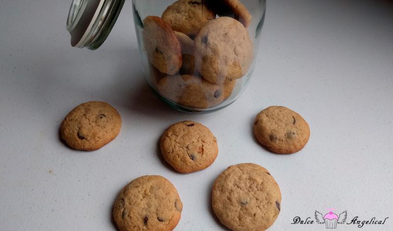 Receta de las galletas caseras con chispas de chocolate