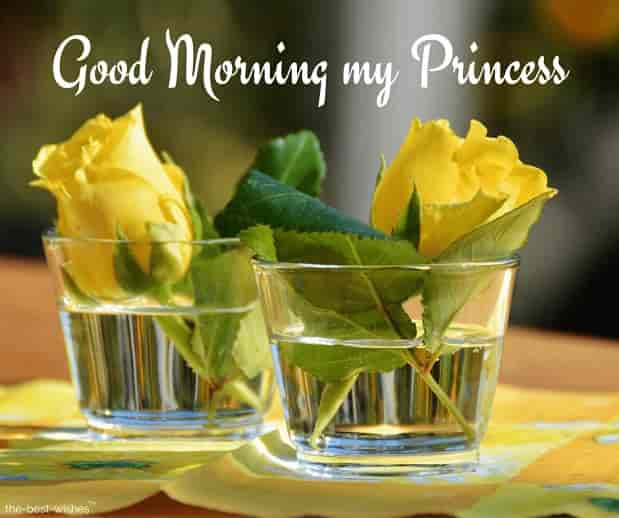 good morning my princess images