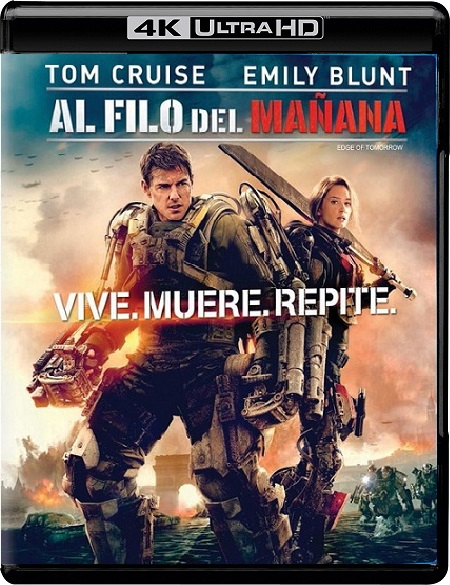 Edge of Tomorrow 4K (Al filo del Mañana 4K) (2014) 2160p 4K UltraHD HDR WEBRip 31GB mkv Dual Audio DTS-HD 7.1 ch