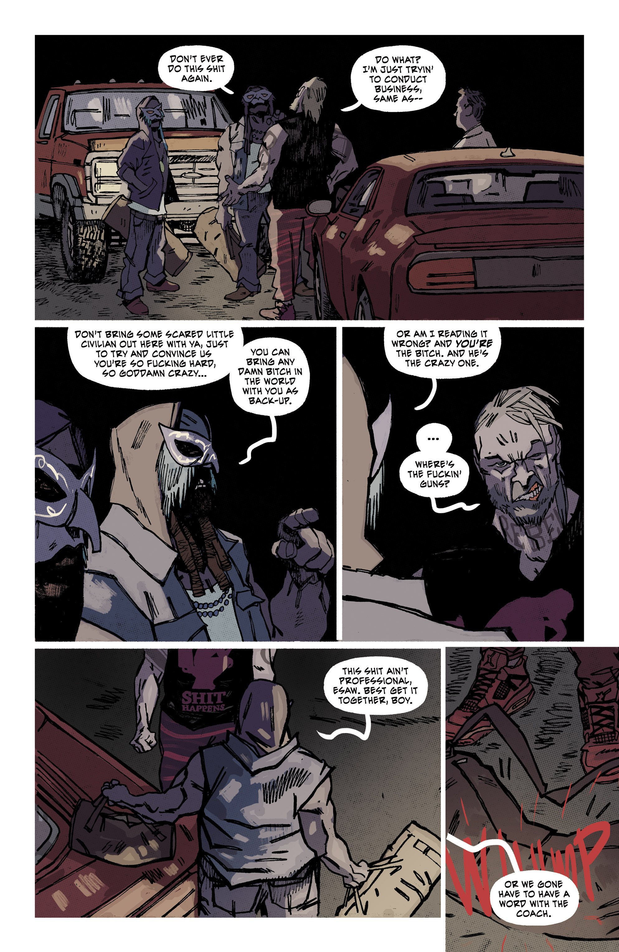 Read online Southern Bastards comic -  Issue #10 - 15