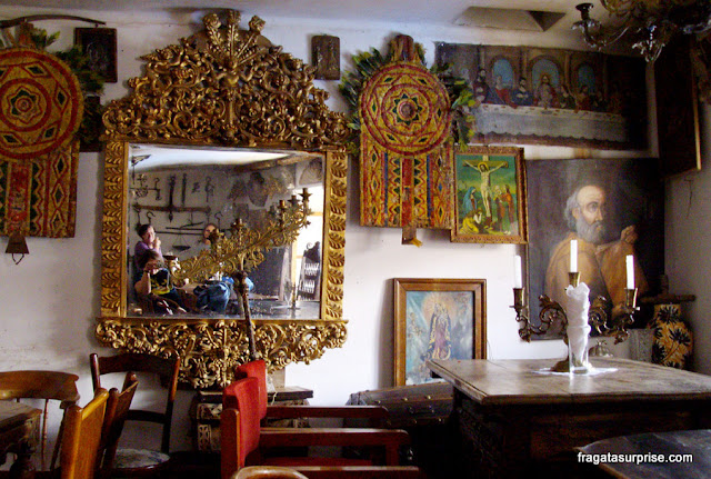Comer em La Paz, Bolívia - Restaurante Angelo Colonial