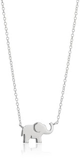 Sterling Silver Elephant Necklace $13 (reg $50)