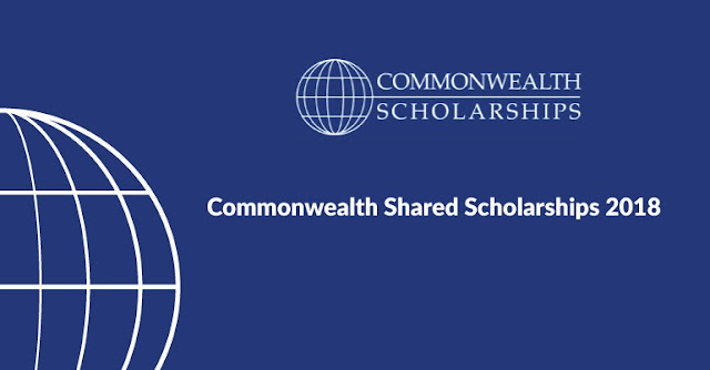 Commonwealth Shared Scholarship 2018