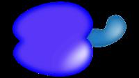 cashew clipart blue