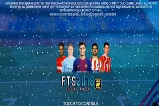 FTS Special Winter by Muh Al Faris Mod APK OBB+Data Download for Android