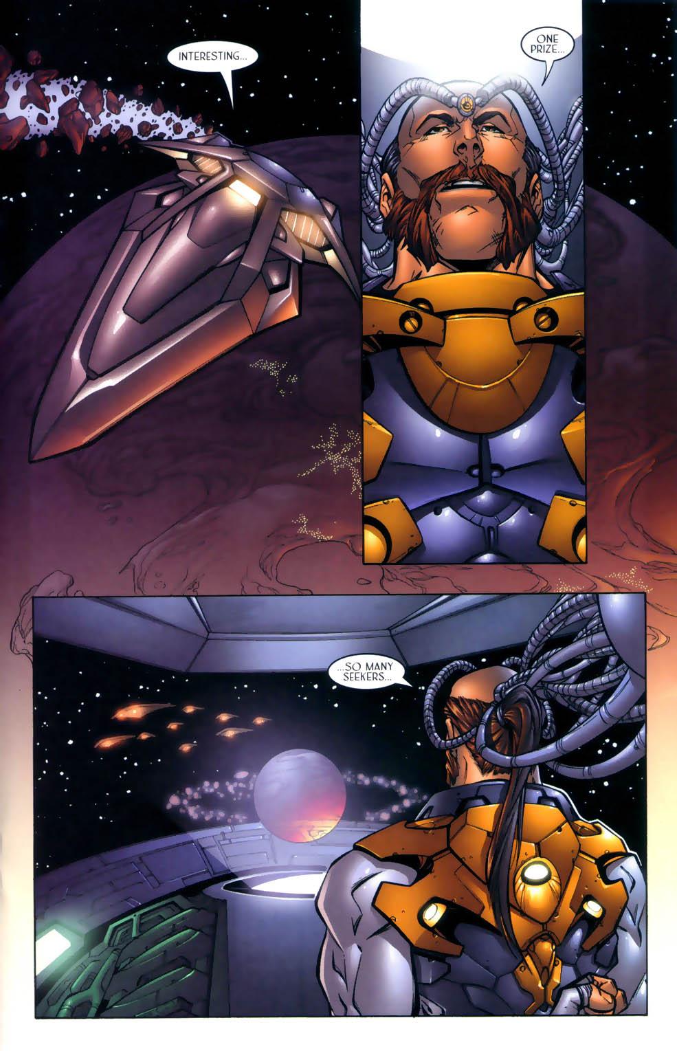 Read online Sigil (2000) comic -  Issue #2 - 16