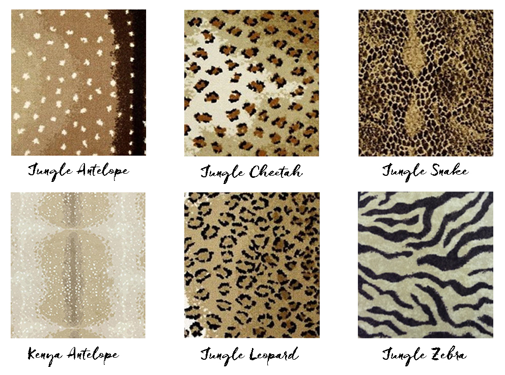 Animal Print Carpet Runners For Srs