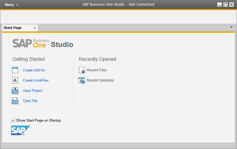 First SAP Business One Add-On Project on Visual Studio 2013 using