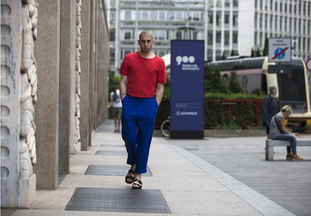sandali alla francescana outfit uomo