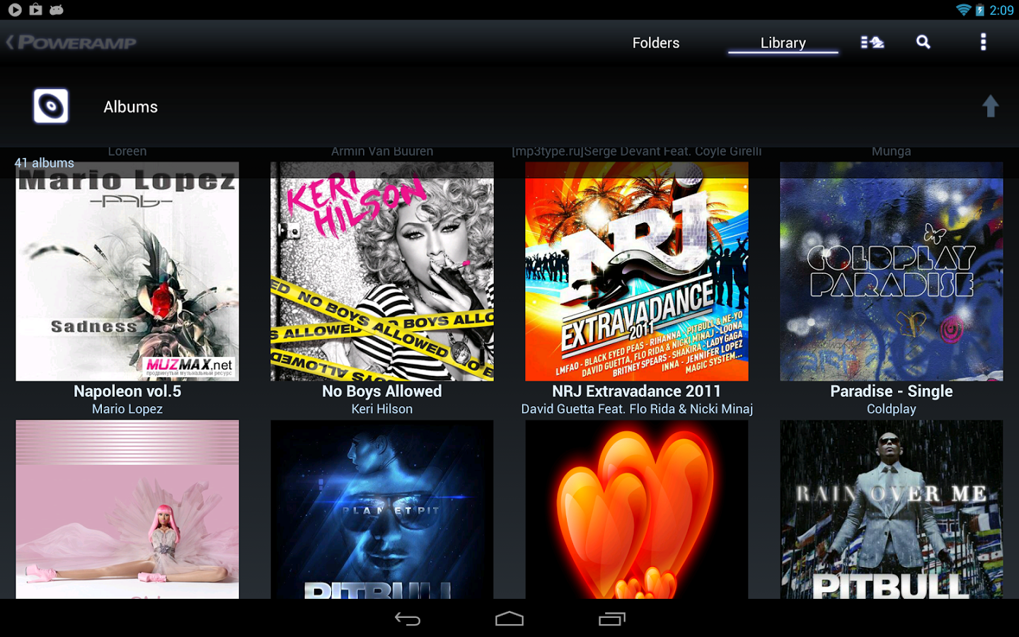 Free Software Downloads: Poweramp Music Player for Android