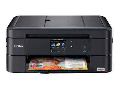The Brother Work Smart Series Color Inkjet All Brother Printer MFC-J680DW Driver Downloads