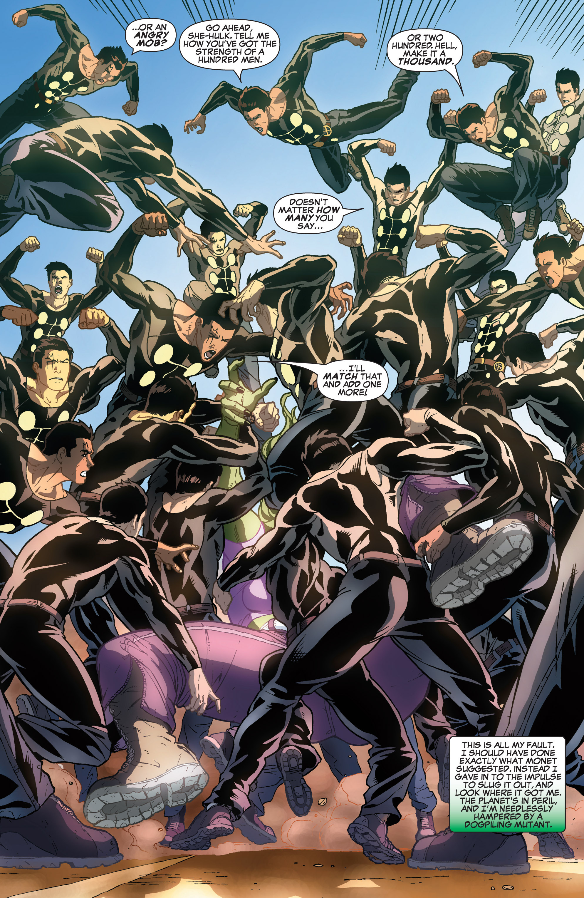 Read online She-Hulk (2005) comic -  Issue #31 - 20