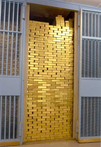Moneycation How Much Gold Is In Fort Knox