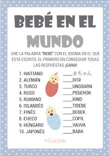 15 Actividades Para Baby Shower Divertidas Juegos De Baby Shower