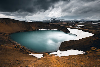 Myvatn Lake is one of Iceland's most popular attractions