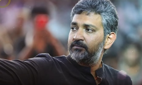 Rajamouli Cried In A Stage!