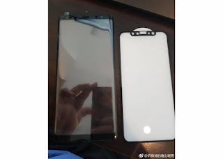 Samsung Galaxy Note 8 front panel