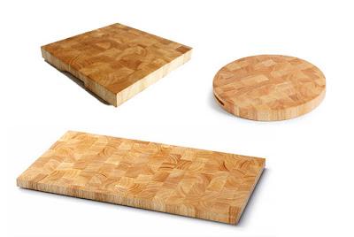 thớt ghép thớ lật gỗ cao su