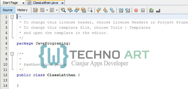 Netbeans IDE User Interface