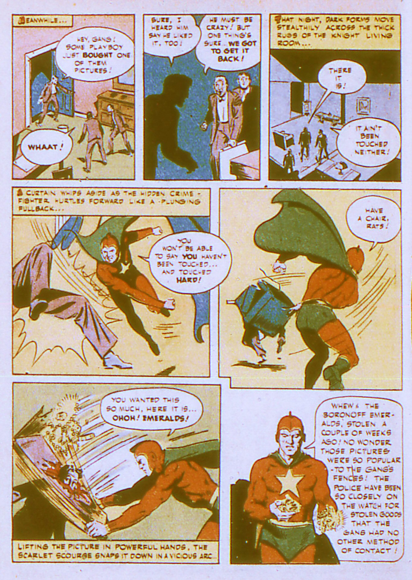 Read online Adventure Comics (1938) comic -  Issue #87 - 37