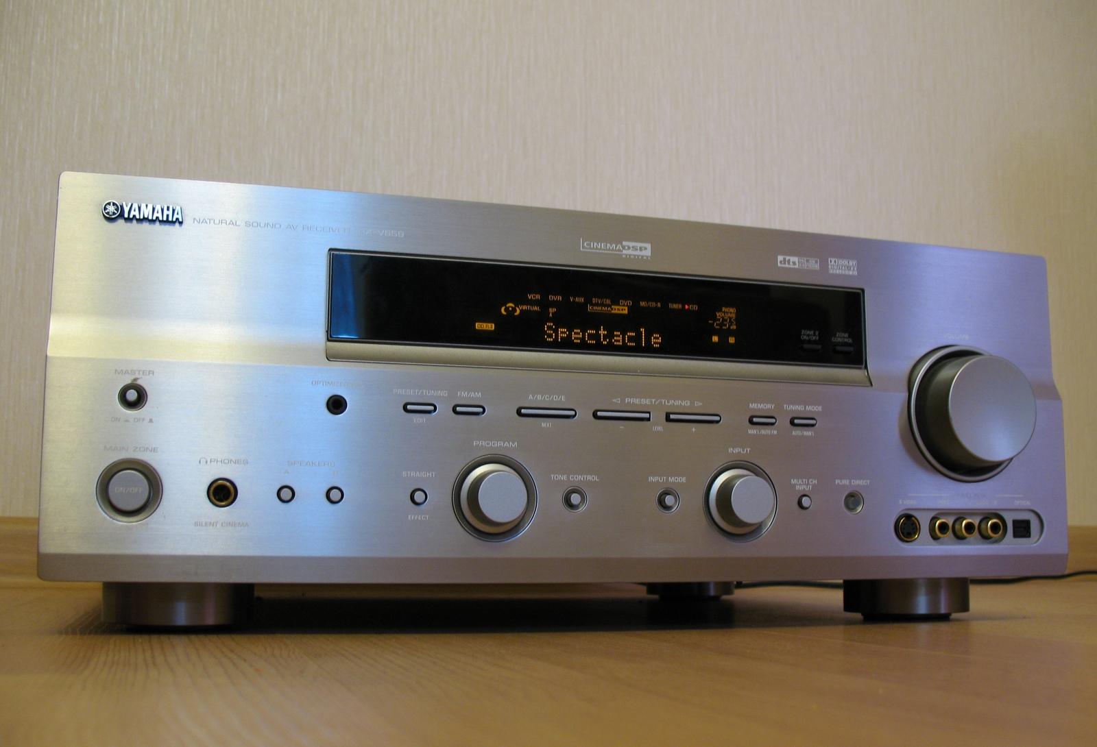 yamaha rx v659 av receiver audiobaza. Black Bedroom Furniture Sets. Home Design Ideas