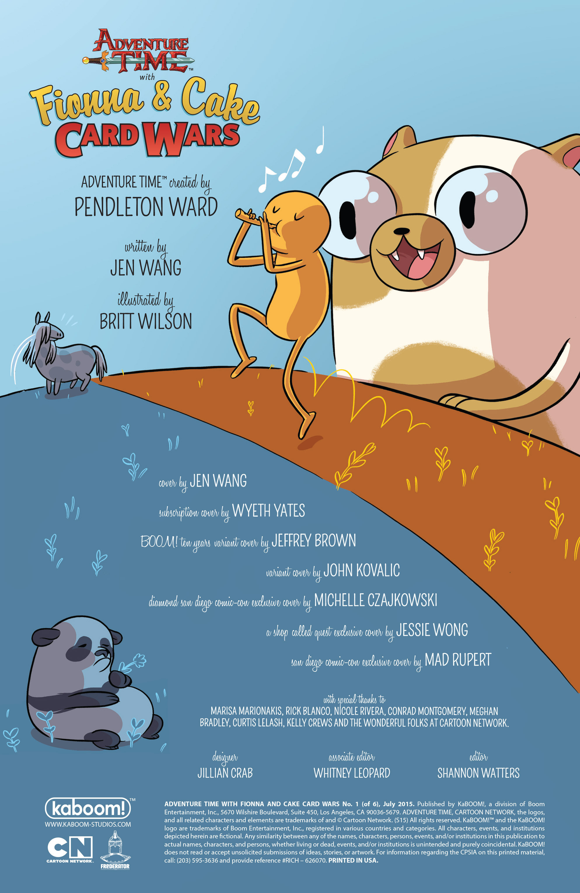 Read online Adventure Time Fionna and Cake Card Wars comic -  Issue #1 - 2